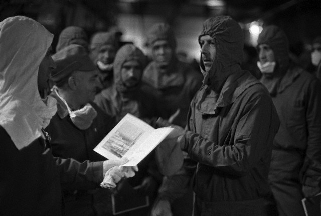 Химические войска в ликвидации последствий катастрофы на ЧАЭС